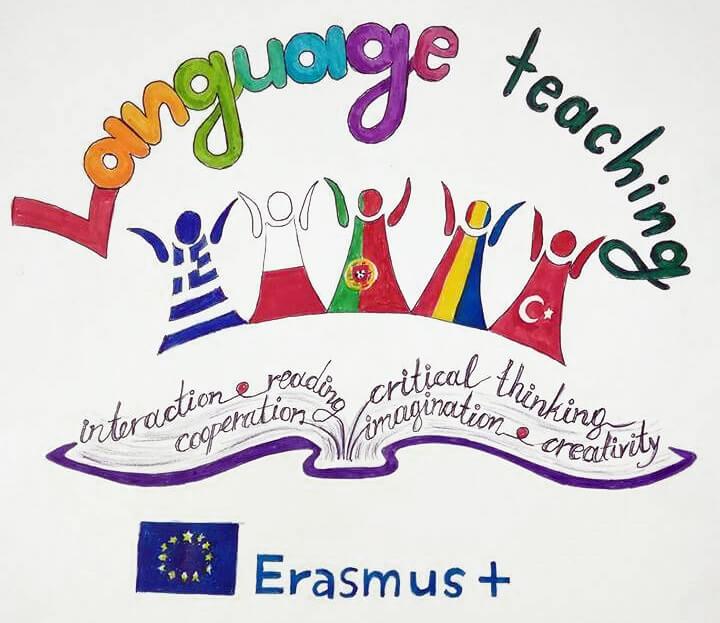 Η πρόταση για το λογότυπο του προγράμματος Erasmus+ όπως σχεδιάστηκε από τους μαθητές μας